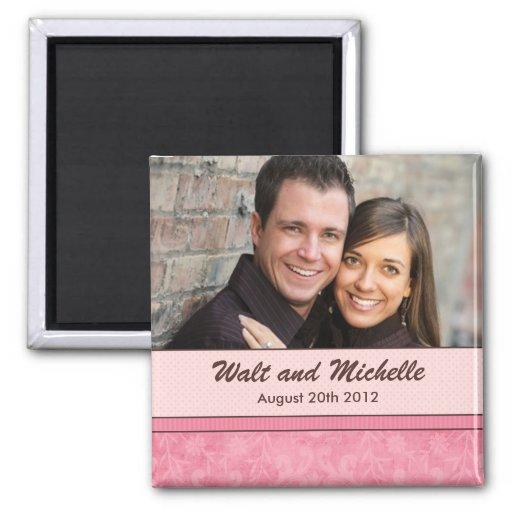 Save the Date Wedding Magnet Kühlschrankmagnet