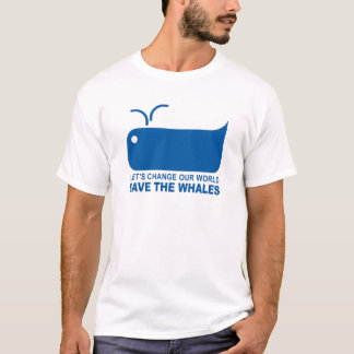 savethewhales T-Shirt