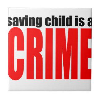 SAVINGCHILDISACRIME harambe tötete Tötung childre Keramikfliese