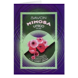 Savon Mimose Unico 55 Karte