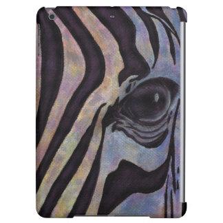 Savvy iPad Air ケース des Zebra-Falles (Lori Corbett)