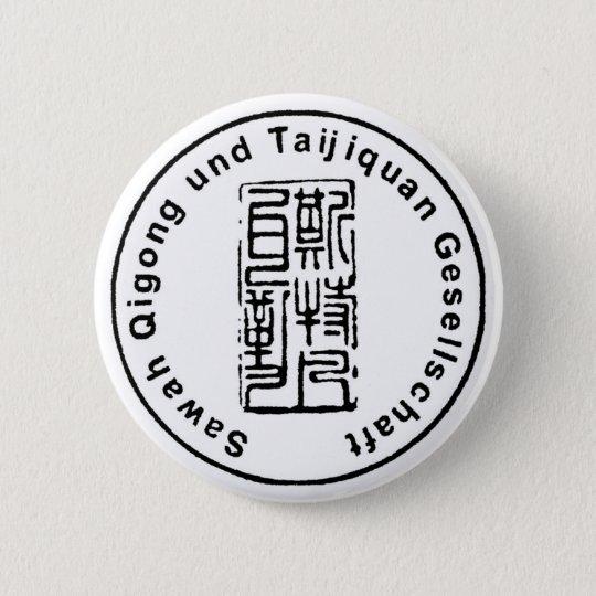 Sawah Qigong und Taijiquan Gesellschaft Runder Button 5,1 Cm