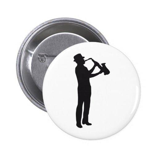 saxophon anstecknadel