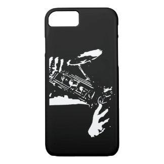 Saxophon-Hände iPhone 8/7 Hülle