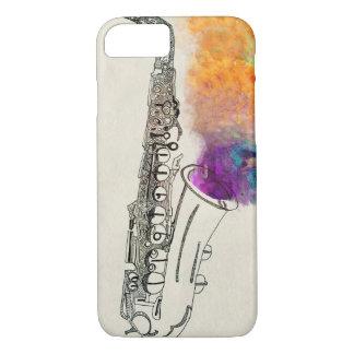 Saxophon-Heilen iPhone 8/7 Hülle