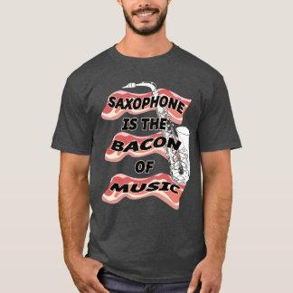 Saxophon ist der Speck von Musik T-Shirt