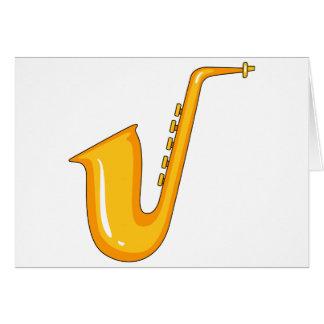 Saxophon Karte