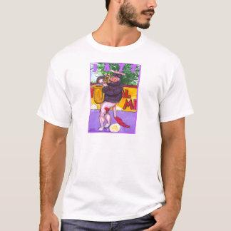 Saxophon-Kuh T-Shirt