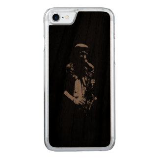 Saxophon-Musiker-Grafik Carved iPhone 8/7 Hülle
