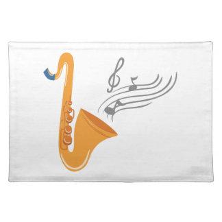 Saxophon Saxophon-Saxophon Tischset