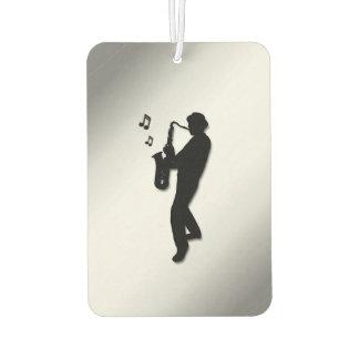 Saxophon-Spieler Lufterfrischer
