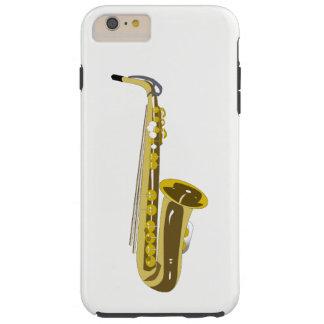 Saxophon Tough iPhone 6 Plus Hülle