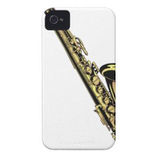 Saxophone-Zeichnen iPhone 4 Case-Mate Hüllen