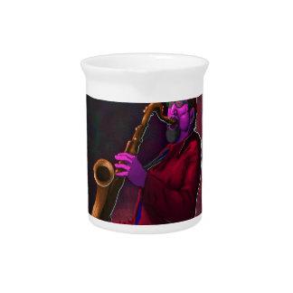 Saxophonist Krug