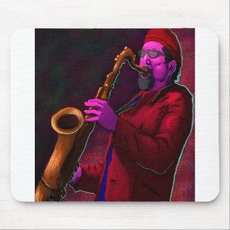 Saxophonist Mousepad