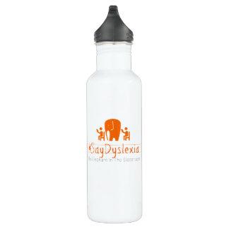 #SayDyslexia kundenspezifische Wasser-Flasche (24 Trinkflasche