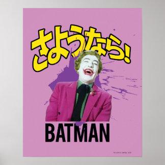 Sayonara Batman Plakat