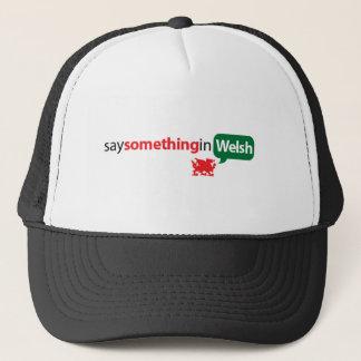 SaySomethinginWelsh Truckerkappe