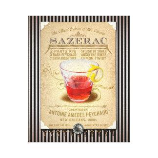 Sazerac das offizielle Cocktail von New Orleans Galerie Falt Leinwand