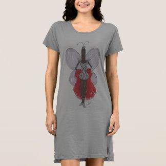 SBM PseudoBerühmtheits-geometrisches Mode-T-Shirt Kleid