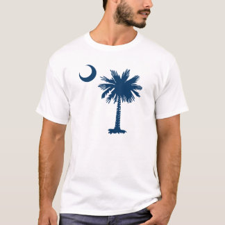 Sc-Palmetto u. -halbmond T-Shirt