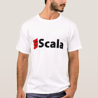 Scala Shirt, schwarzes Logo T-Shirt