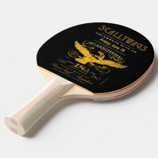 Scallywags 18 1/12 Jahrestag (2015) Tischtennis Schläger