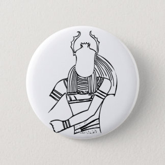 Scarabäus-Pharao 1 Runder Button 5,1 Cm