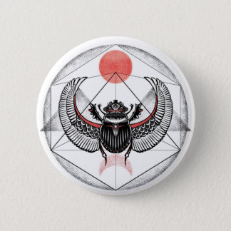 Scarabäus Runder Button 5,7 Cm