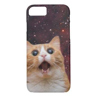 scaredy Katze im Raum iPhone 8/7 Hülle