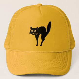 Scaredy Katzen-Halloween-Kappe Truckerkappe
