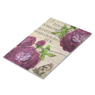 Scarlet-Rose Vintag Notizblock