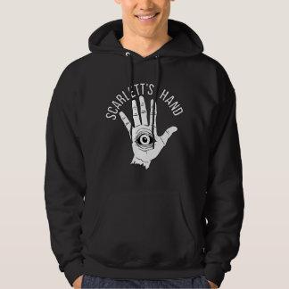 Scarletts der schwarze Hoodie Handder logo-Männer