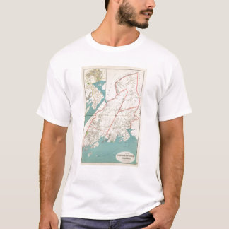 Scarsdale, New Rochelle, Mamaroneck Städte T-Shirt