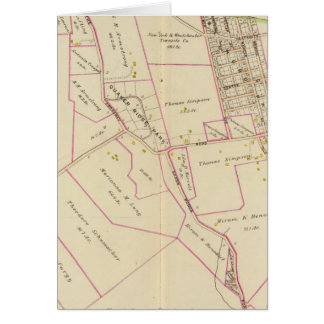 Scarsdale, New York Karte