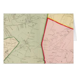Scarsdale, White Plains, New York Karte