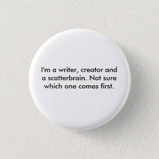 Scatterbrain-Gang Runder Button 2,5 Cm