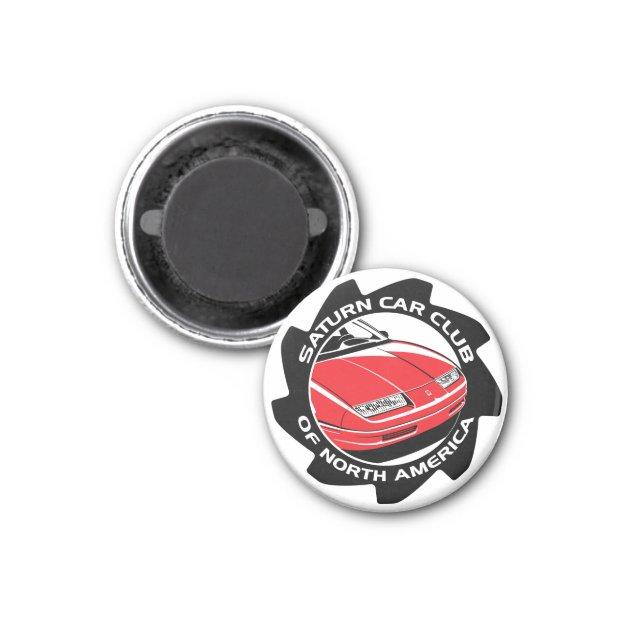 Auto Kühlschrank Saturn : Sccna kleiner magnet saturn auto verein zazzle