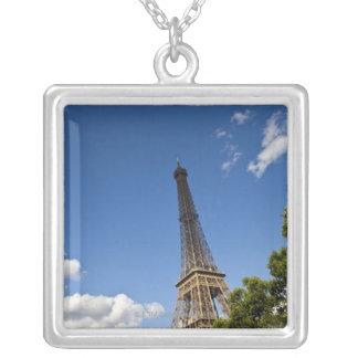 Scenics um Paris Frankreich Versilberte Kette