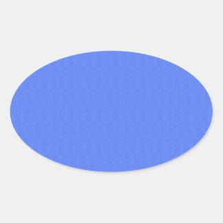 Schablone DIY löscht 5 Schatten n Beschaffenheiten Ovaler Aufkleber