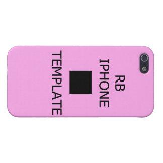 Schablone-Fall ausgebuffter MattendeiPhone 5/5S Hülle Fürs iPhone 5
