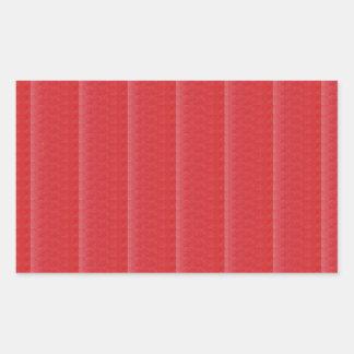 Schablone GRANATAPFEL-Fruchtfarbe DIY + TEXT-BILD Rechteckiger Aufkleber