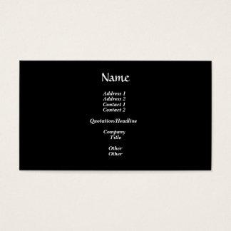 Schablone-Hoffnungsvoll gut Visitenkarte