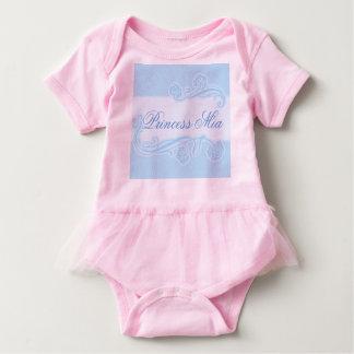 Schablone, Kunst nouveau Muster, Babyblau, Baby Strampler