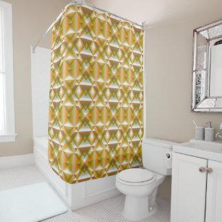 Schablonen-Dusche Duschvorhang