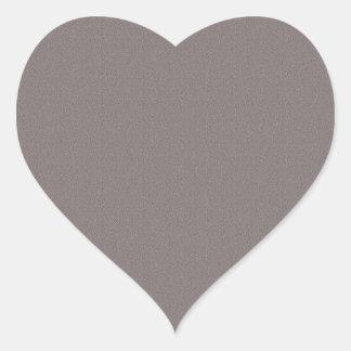 Schablonen-freier Raum addieren Ihr elegantes Grau Herz-Aufkleber