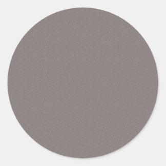 Schablonen-freier Raum addieren Ihr elegantes Grau Runder Aufkleber