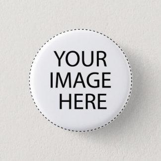 Schablonen-freier Raum.  Addieren Sie Ihren Runder Button 3,2 Cm