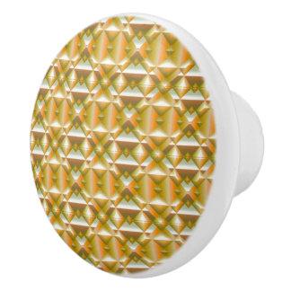 Schablonen-Griff Keramikknauf
