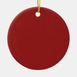 Schablonen-leerer roter Schatten addieren leicht Keramik Ornament